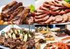 豚肉料理食べ比べ スタミナ満点ディナービュッフェ
