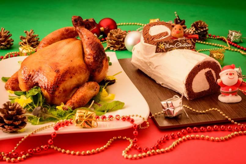 ★沖縄県産丸鶏のローストとクリスマスケーキスペシャルセット★